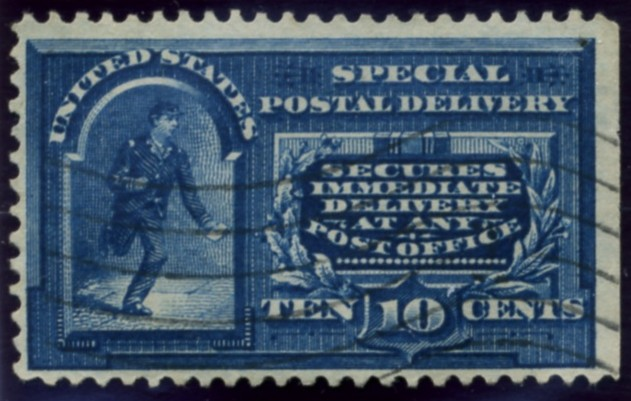 Scott E5 10 Cent Special Delivery Stamp a