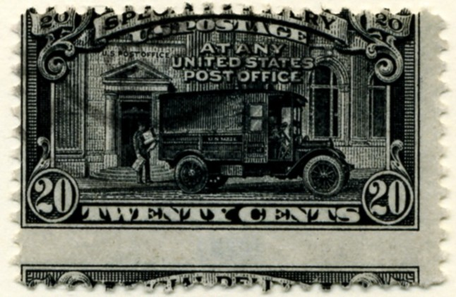 Scott E19 20 Cent Special Delivery Stamp Mail Truck