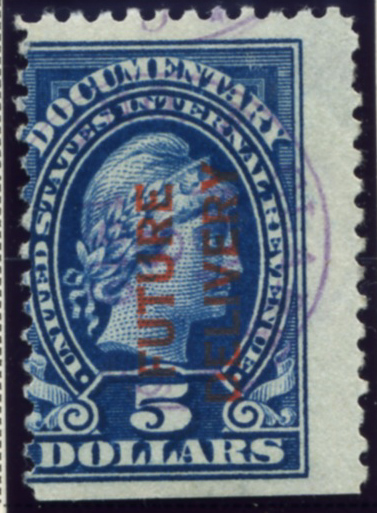 Scott RC13 5 Dollar Internal Revenue Documentary Stamp Future Delivery