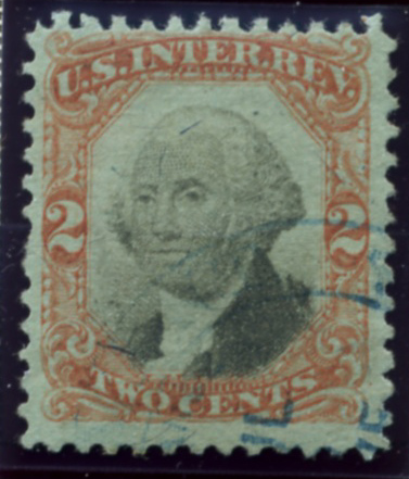 Scott R151 2 Cents Internal Revenue Stamp