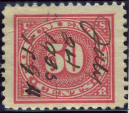 Scott R238 50 Cent Internal Revenue Documentary Stamp Watermarked USIR a